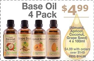 Base Oil 4 Pack Bonus Offer with Purchase