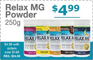 Magnesium Powder Bonus Offer with Purchase