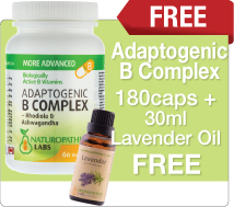 Adaptogenic B complex Plus Free Gift