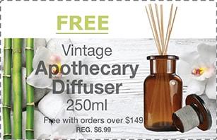 250ML Vintage Diffuser Offer