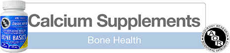 Natural Bone Support Supplements