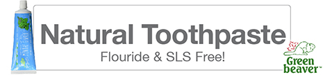 Natural Fluoride and SLS Free Toothpaste