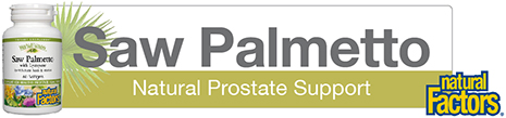 Saw Palmetto Natural Prostate Support