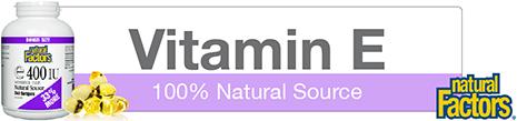 Natural Vitamin E Bonus Size