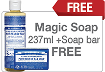 Natural Mulit Purpose Soap Bonus