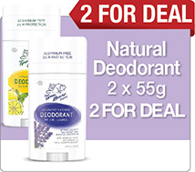 Natural Deodorant 2 For Deal