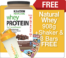 Whey Protein Plus Free Bonus Pack