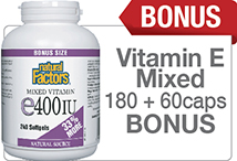 Vitamin E Bonus Size 33% more
