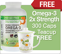 Double Strength Omega 3 Bonus Size