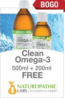 Clean Omega 3 Buy 1 Get 1