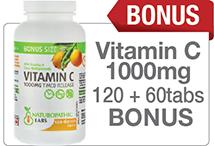 Vitamin C Bonus Size