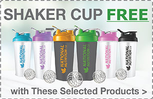 Free Shaker Cup with Purchase