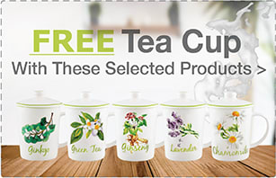 Free Tea Cup with Purchase