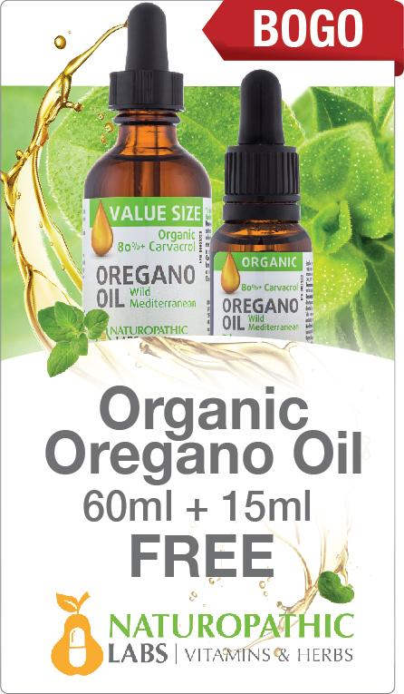 Organic Organo Oil 60ml + 15ml Free