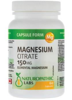 MAGNESIUM CITRATE 150MG - 60 CAPS