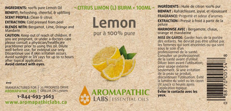 LEMON OIL - 100ML + BONUS ITEM