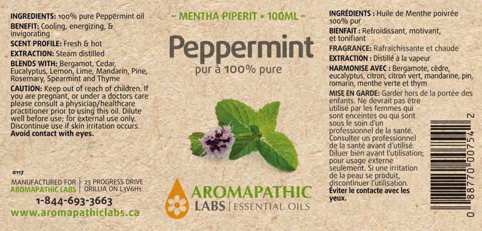 PEPPERMINT OIL – 100ML + 30ML FREE