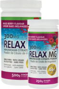 RELAX MG MAGNESIUM POWDER (BERRY) - 500G + 250G FREE