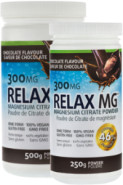 RELAX MG MAGNESIUM POWDER (CHOCOLATE) 300MG - 500G + 250G FREE