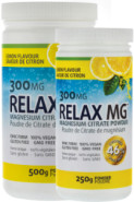 RELAX MG MAGNESIUM POWDER (LEMON) 300MG - 500G + 250G FREE