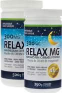 RELAX MG MAGNESIUM POWDER (NATURAL) 300MG - 500G + 250G FREE