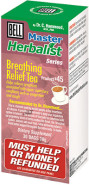 BELL BREATHING RELIEF TEA #45 - 30 BAGS ***CLEARANCE (EXPIRY 08/2019)***