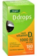 ADULT D DROPS 1000 IU VEGAN - 5 ML (180 DROPS)