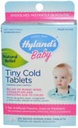 TINY COLD TABLETS - 125 TABS