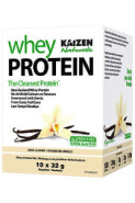 100% NATURAL WHEY PROTEIN (VANILLA) - 10 x 30.4G PACKETS