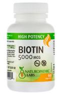 BIOTIN - 5000MCG - 60 CAPS