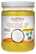 ORGANIC COCONUT OIL (BUTTERY FLAVOUR) - 414ML