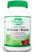 B-3 (NIACINAMIDE) 500MG - 90 CAPS - organika