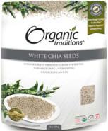 ORGANIC CHIA SEEDS (WHITE) - 454G