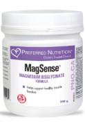 MAGSENSE MAGNESIUM BISGLYCINATE FORMULA (ORANGE-LIME) - 200G