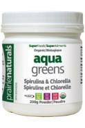 AQUA GREENS SPIRULINA & CHLORELLA - 200G