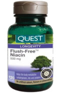 NIACIN FLUSH-FREE 500 MG - 120 CAPS