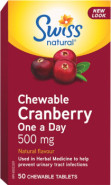 CRANBERRY ONE A DAY - 50 CHEW TABS