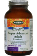 SENIOR'S PROBIOTIC (FORMERLY SUPER ADVANCED ADULT'S PROBIOTIC (AGE 55+)) 20 BILLION - 30 VCAPS