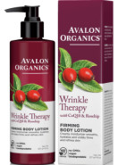 WRINKLE THERAPY WITH COQ10 & ROSEHIP FIRMING BODY LOTION (FORMERLY COQ10 ULTIMATE FIRMING BODY LOTION) - 227G