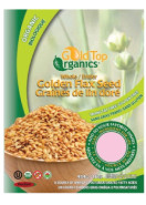 ORGANIC GOLDEN FLAX SEED WHOLE - 454G