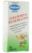 COLD SORES/ FEVER BLISTERS  - 100 TABS