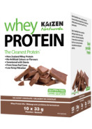 100% NATURAL WHEY PROTEIN (CHOCOLATE) - 10 x 30.4G PACKETS