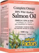 COMPLETEOMEGA SALMON OIL 1300MG - 90 CLEAR ENTERIC SOFTGELS