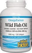 OMEGA-3 WILD TRIPLE FISH OIL 300 MG - 60 SOFTGELS