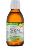 CLEAN OMEGA-3 LIQUID 800MG EPA 500MG DHA (LEMON MERINGUE) - 200ML
