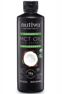 ORGANIC MCT OIL FROM COCONUT (UNFLAVOURED) - 473ML