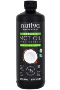 ORGANIC MCT OIL FROM COCONUT (UNFLAVOURED) - 946ML